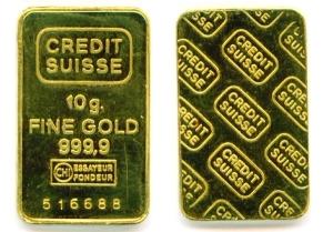 Fine Gold 999.9% 10g